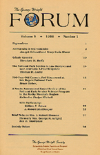 Cover, vol. 5, no. 1
