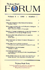 Cover, vol. 6, no. 1