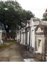 Family tombs, Lafayette #1 Cemetery