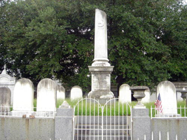 Tombs & morte safe, Lafayette #1 Cemetery