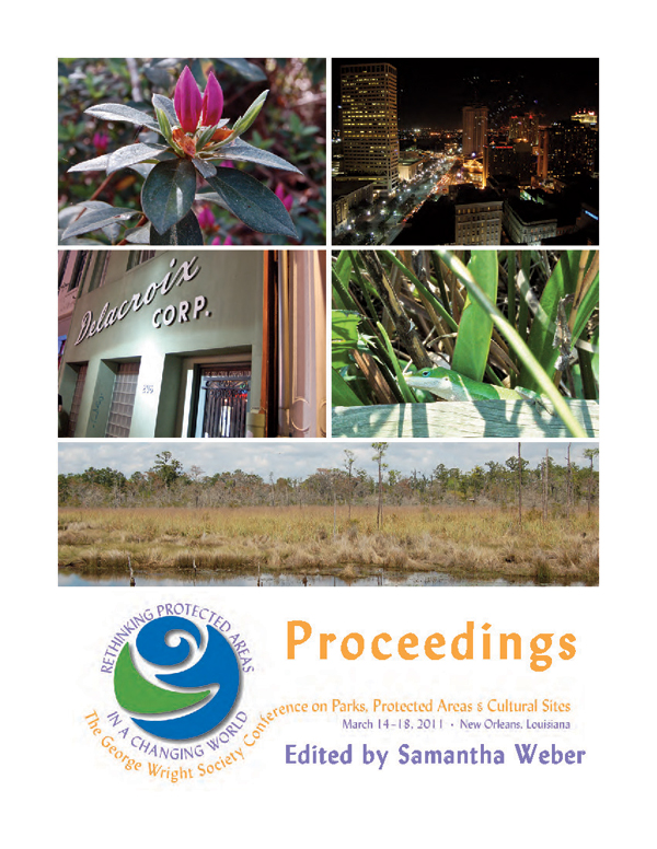 GWS2011 Proceedings cover
